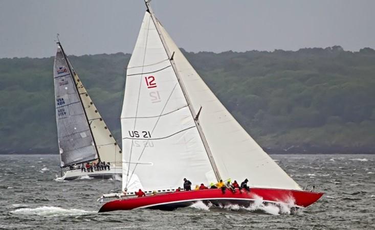American Eagle Racing Upwind 1964 LUDERS 12 Metre Racing Sailboat 1806641