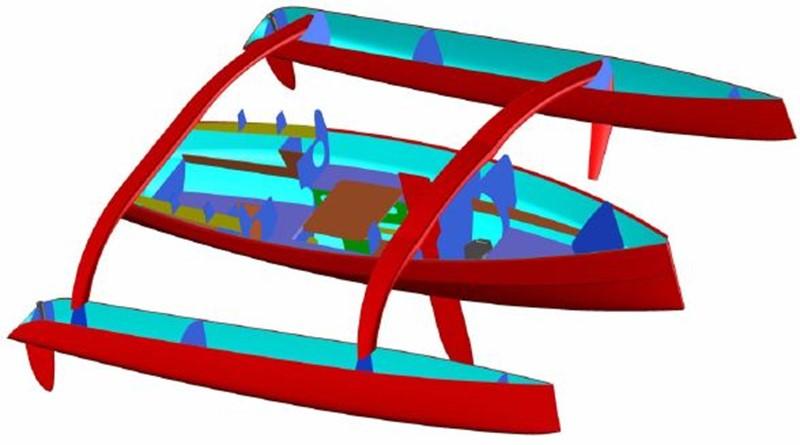 2017 CUSTOM Rega Yachts Libertist 850 Trimaran Trimaran 1830332