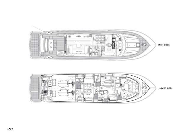 2009 CANADOS  Motor Yacht 1830794