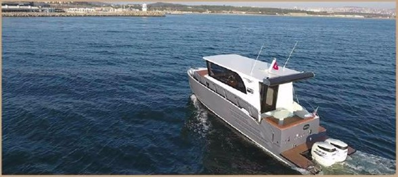 2017 CUSTOM BORA&AS YACHT Aluminum 33ft Sword Motor Yacht 1834110