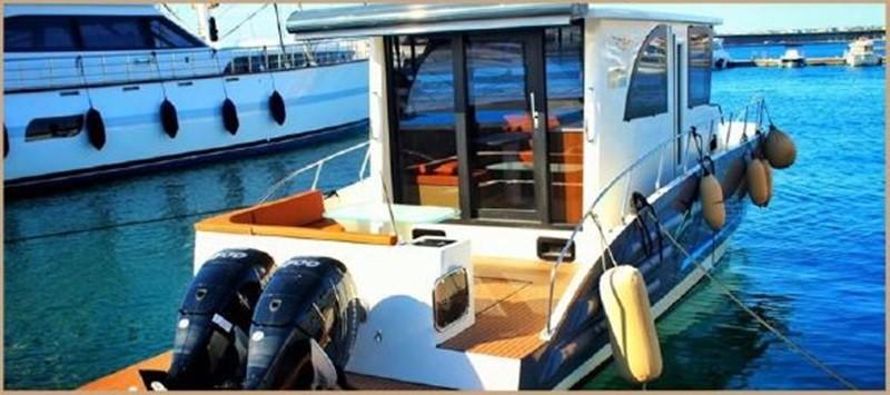 2017 CUSTOM BORA&AS YACHT Aluminum 33ft Sword Motor Yacht 1834111