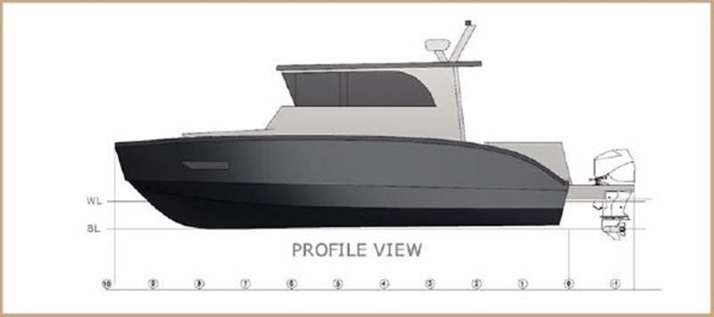 2017 CUSTOM BORA&AS YACHT Aluminum 33ft Sword Motor Yacht 1834112