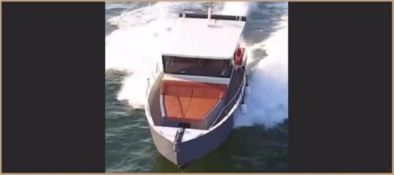 2017 CUSTOM BORA&AS YACHT Aluminum 33ft Sword Motor Yacht 1834113