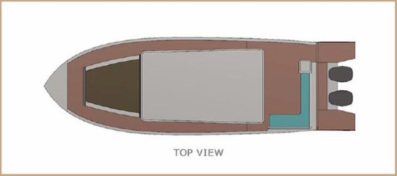 2017 CUSTOM BORA&AS YACHT Aluminum 33ft Sword Motor Yacht 1834114