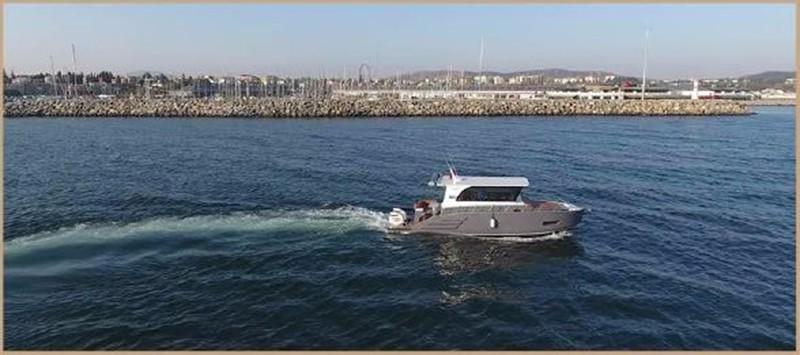 2017 CUSTOM BORA&AS YACHT Aluminum 33ft Sword Motor Yacht 1834115