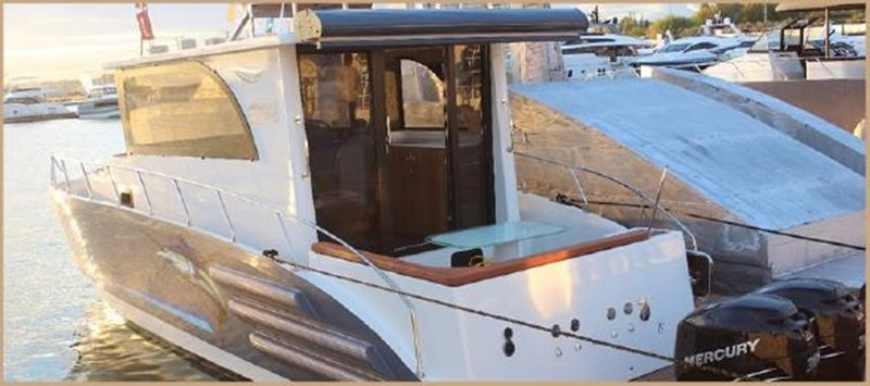 2017 CUSTOM BORA&AS YACHT Aluminum 33ft Sword Motor Yacht 1834116