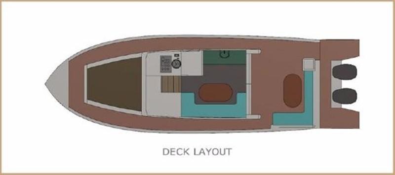 2017 CUSTOM BORA&AS YACHT Aluminum 33ft Sword Motor Yacht 1834117