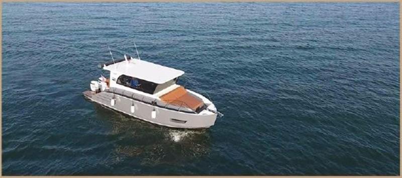 2017 CUSTOM BORA&AS YACHT Aluminum 33ft Sword Motor Yacht 1834118