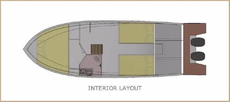 2017 CUSTOM BORA&AS YACHT Aluminum 33ft Sword Motor Yacht 1834119