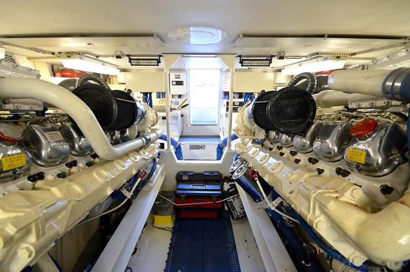 58' Viking - Engine Room 1 - 58 VIKING For Sale