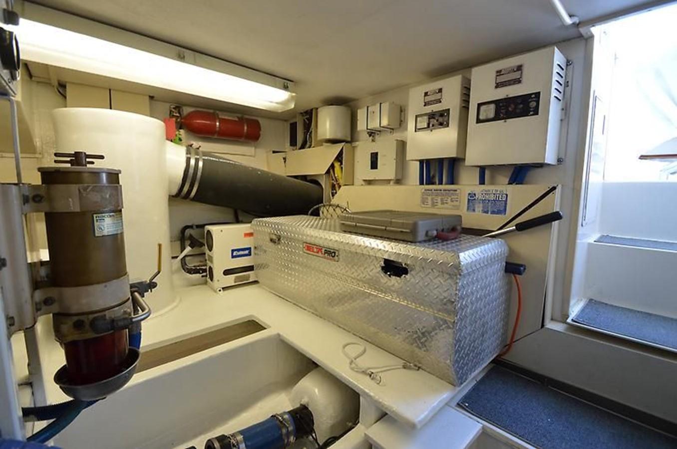 58' Viking - Engine Room 7 - 58 VIKING For Sale