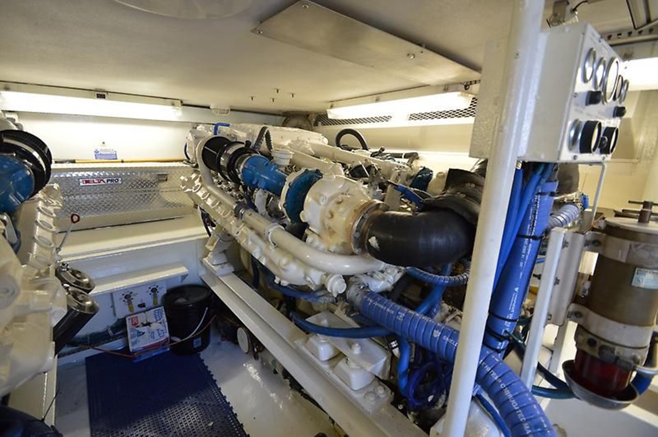 58' Viking - Engine Room 14 - 58 VIKING For Sale