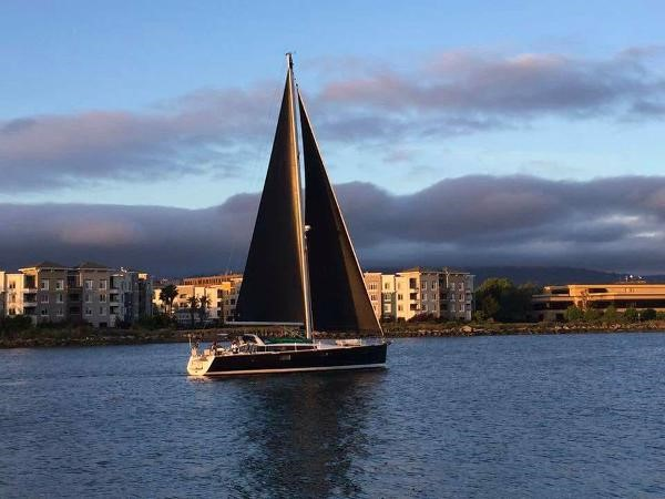 Under Sail 2015 BENETEAU Sense 50 Cruising Sailboat 1848488
