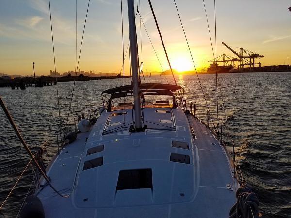 Deck 2015 BENETEAU Sense 50 Cruising Sailboat 1848499