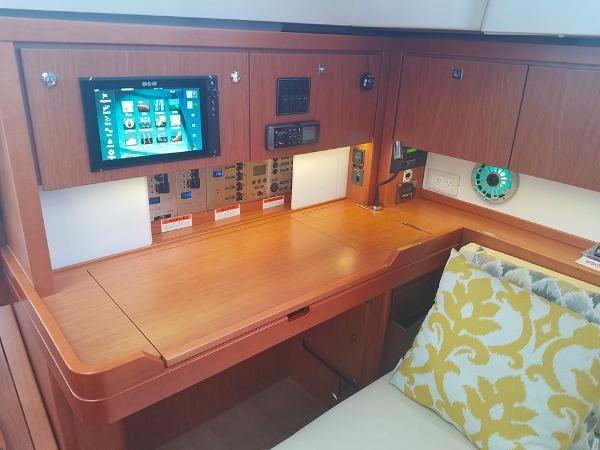 Nav Station. 2015 BENETEAU Sense 50 Cruising Sailboat 1848500