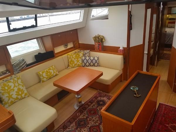 Salon. 2015 BENETEAU Sense 50 Cruising Sailboat 1848511