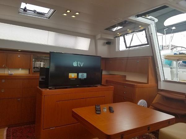 Lifting TV Set. 2015 BENETEAU Sense 50 Cruising Sailboat 1848512