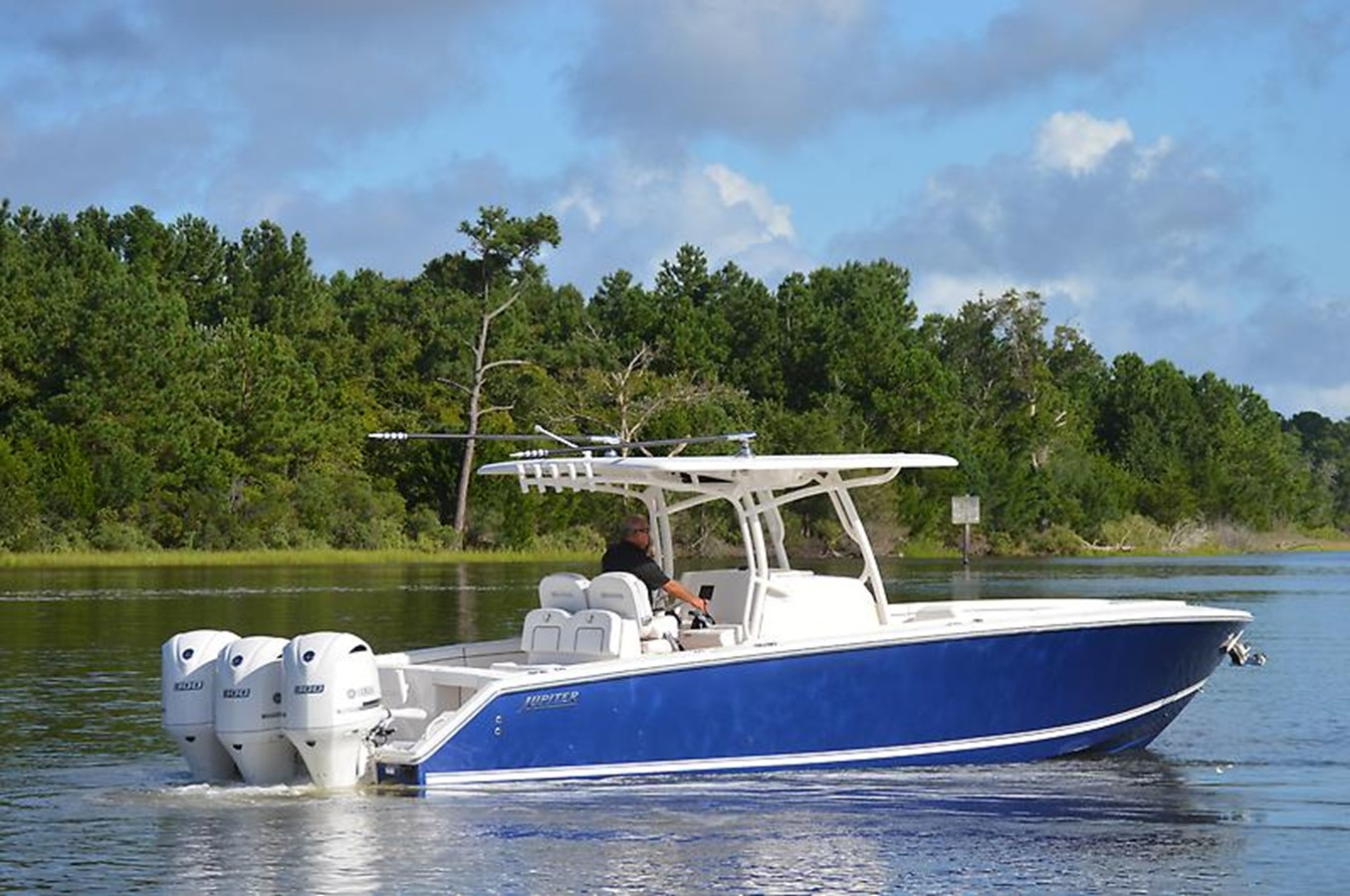 Stbd Side - 34 JUPITER For Sale