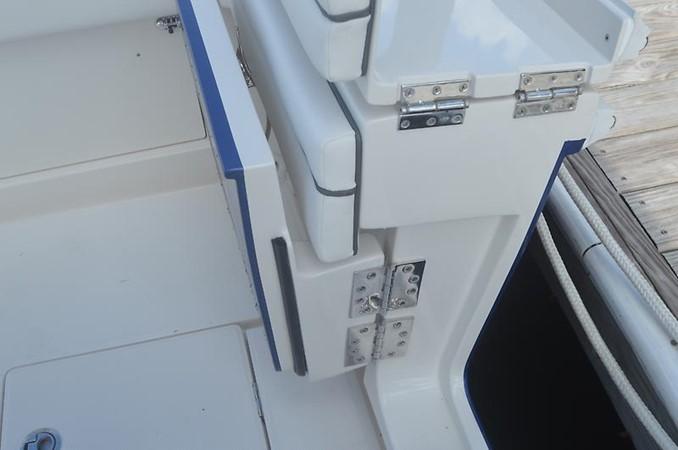 Cockpit Gate Open 2018 JUPITER 34 HFS Center Console 2658762