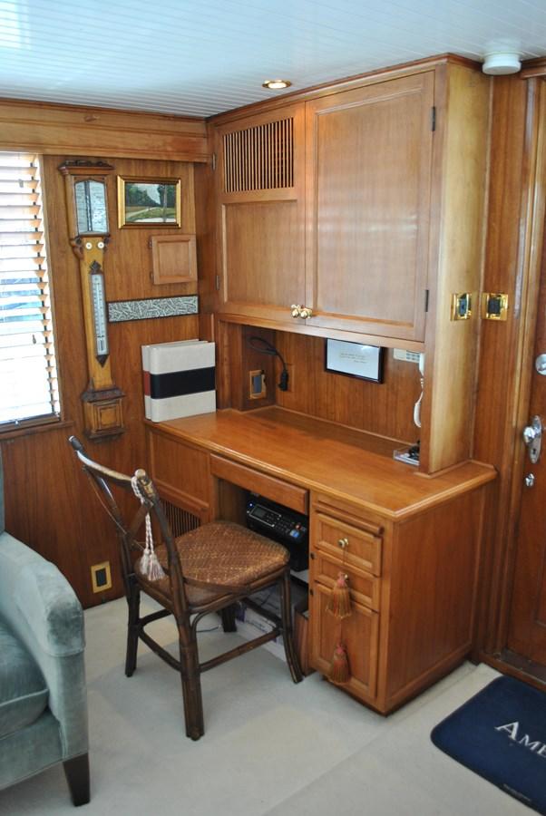 Salon Desk  1965 TRUMPY  Motor Yacht 1870576