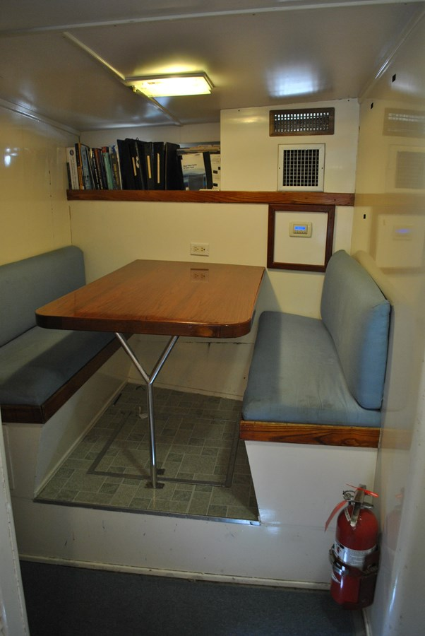 Crew Dinette  1965 TRUMPY  Motor Yacht 1870594