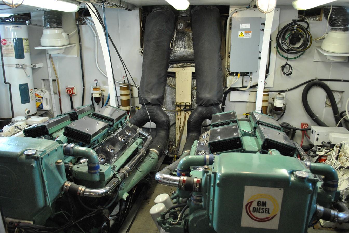 Engine Room  1965 TRUMPY  Motor Yacht 1870596