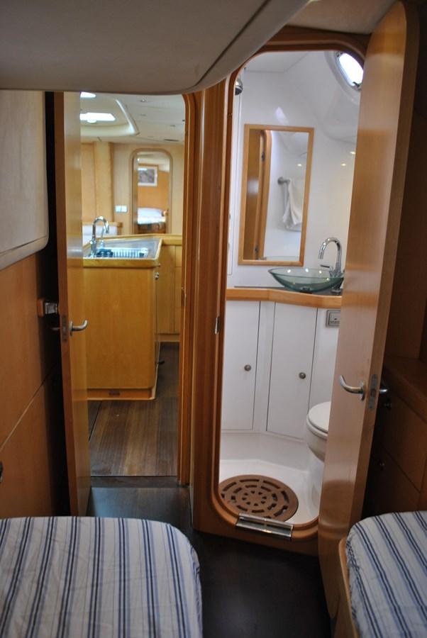 Starboard Aft Head 2004 INDIGO YACHTS  Cruising Sailboat 1873048