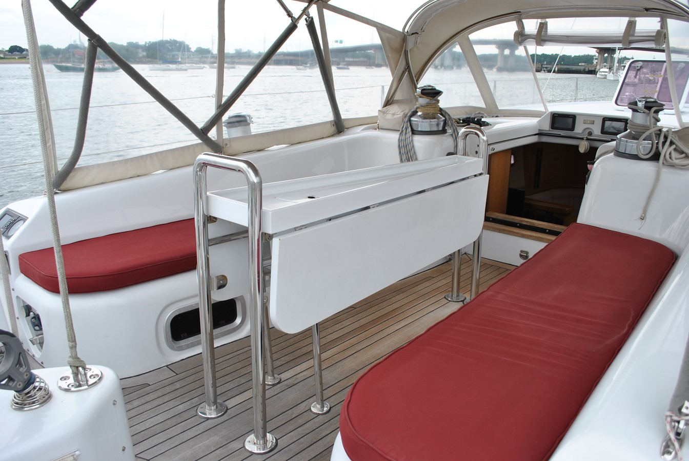 Cockpit Seating 2004 INDIGO YACHTS  Cruising Sailboat 1873055