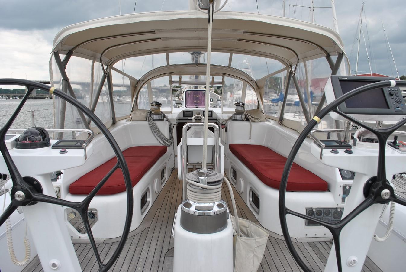 Cockpit  2004 INDIGO YACHTS  Cruising Sailboat 1873056