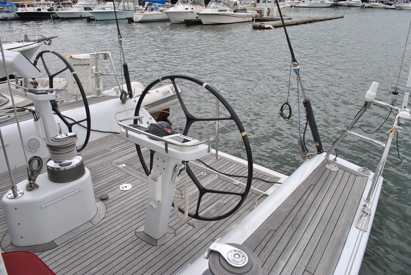 Helm and Swimstep 2004 INDIGO YACHTS  Cruising Sailboat 1873057