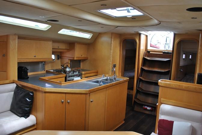 Galley 2005 INDIGO YACHTS  Cruising Sailboat 1873046