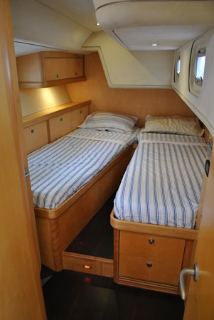 Starboard Aft Stateroom  2005 INDIGO YACHTS  Cruising Sailboat 1873047