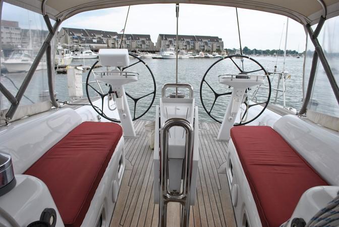 Cockpit Seating 2005 INDIGO YACHTS  Cruising Sailboat 1873054
