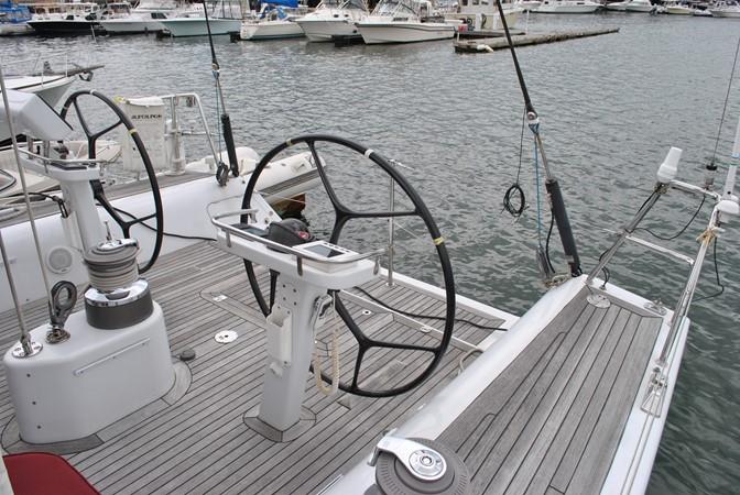 Helm and Swimstep 2005 INDIGO YACHTS  Cruising Sailboat 1873057