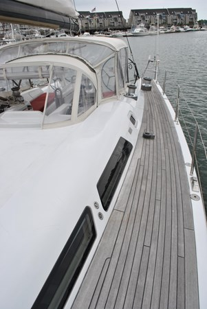 Side Deck 2005 INDIGO YACHTS  Cruising Sailboat 1873059