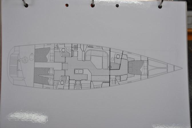 Layout 2005 INDIGO YACHTS  Cruising Sailboat 1873062