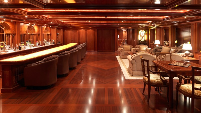 34 Upper deck Bar Amercain and lounge 2003 CODECASA Full displacement motor yacht Motor Yacht 1872934