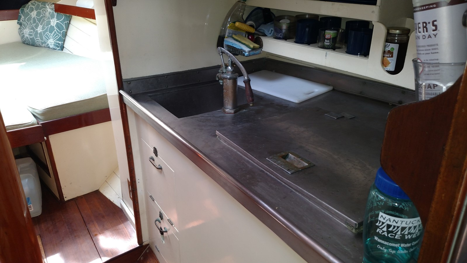 Galley 1947 NEVINS / SPARKMAN & STEPHENS S&S Sloop Classic Yacht 1883748