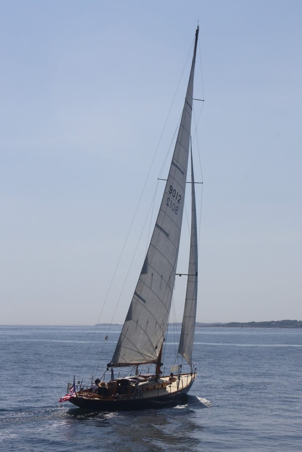 1947 NEVINS / SPARKMAN & STEPHENS S&S Sloop Classic Yacht 2603086