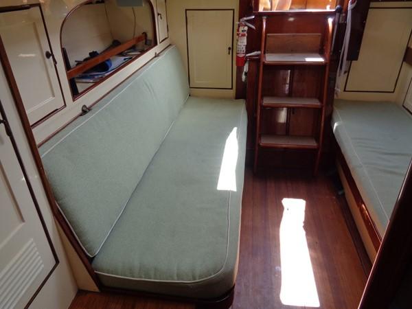 Main Salon Stb 1947 NEVINS / SPARKMAN & STEPHENS S&S Sloop Classic Yacht 1883742