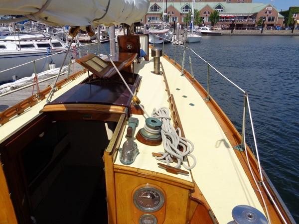Cabinhouse Top 1947 NEVINS / SPARKMAN & STEPHENS S&S Sloop Classic Yacht 1883743
