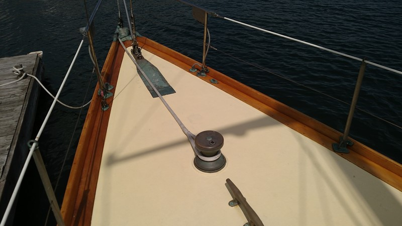 Bow 1947 NEVINS / SPARKMAN & STEPHENS S&S Sloop Classic Yacht 1883750