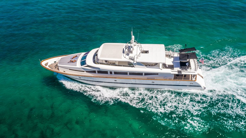 Aerial Port Profile 2000 HORIZON 110 Motor Yacht Motor Yacht 1895829