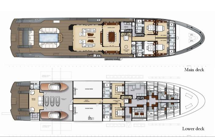 2021 RMK MARINE SHIPYARDS, TURKEY Expedition  Motor Yacht 2286219