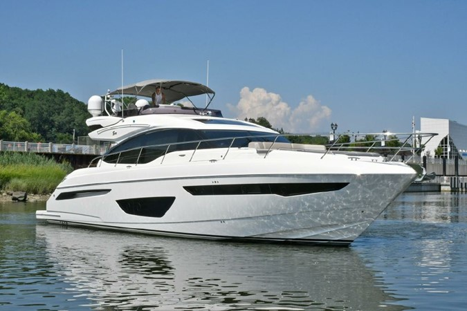 Starboard Bow 2016 PRINCESS YACHTS S65 Sportbridge Motor Yacht 1923783