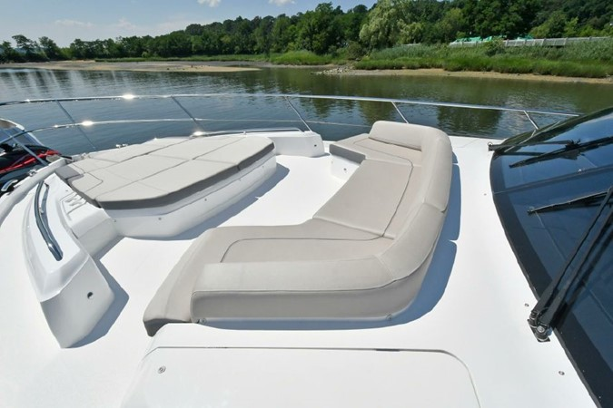 Portuguese Bow Seating with Sunlounge 2016 PRINCESS YACHTS S65 Sportbridge Motor Yacht 1923787