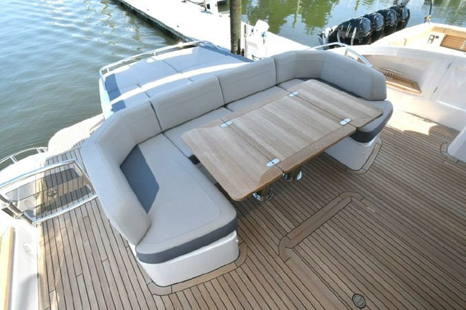 Cockpit Seating with Table 2016 PRINCESS YACHTS S65 Sportbridge Motor Yacht 1923791