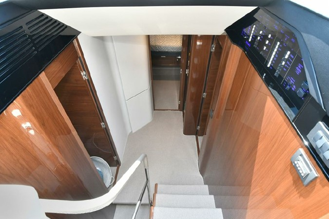 Companionway to Staterooms  2016 PRINCESS YACHTS S65 Sportbridge Motor Yacht 1923814