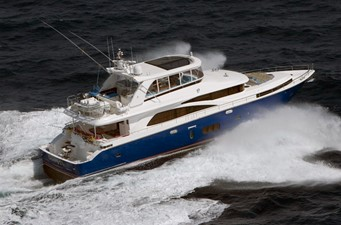 JOHNSON 83' FLYBRIDGE w/FISHING COCKPIT 242841