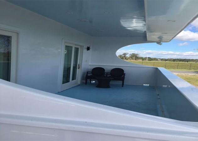 Deck 2016 CUSTOM 106 Houseboat Houseboat 1935572